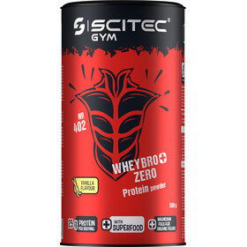 SCITEC Whey Bro+ Zero Protein Powder 500g, Vanilla